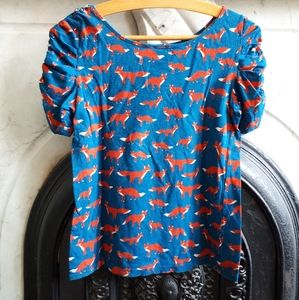 Anthropologie fox top